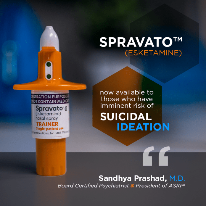 Sandhya Prashad on Spravato